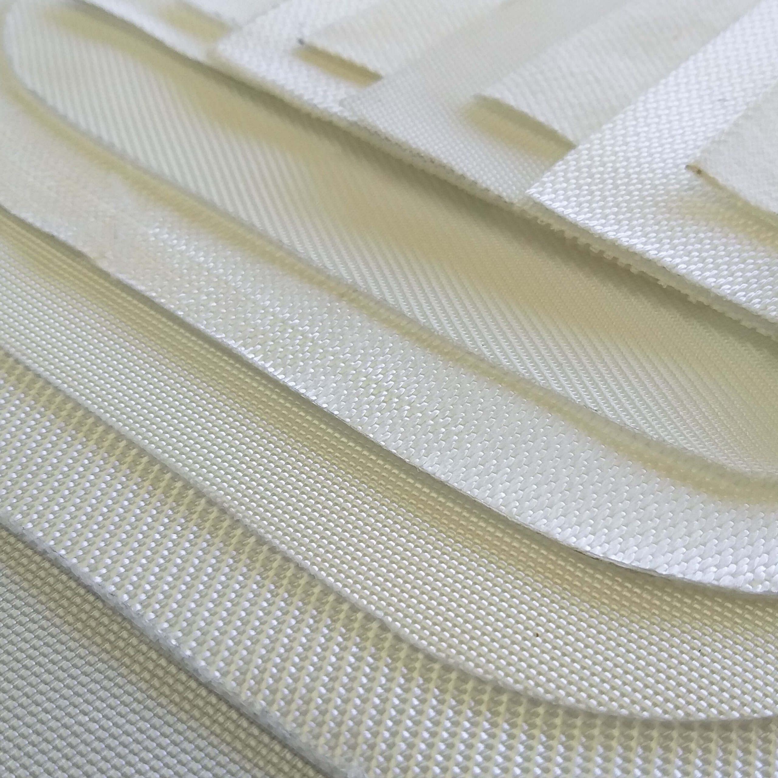 vários tecidos para tambor rotativo sobrepostos