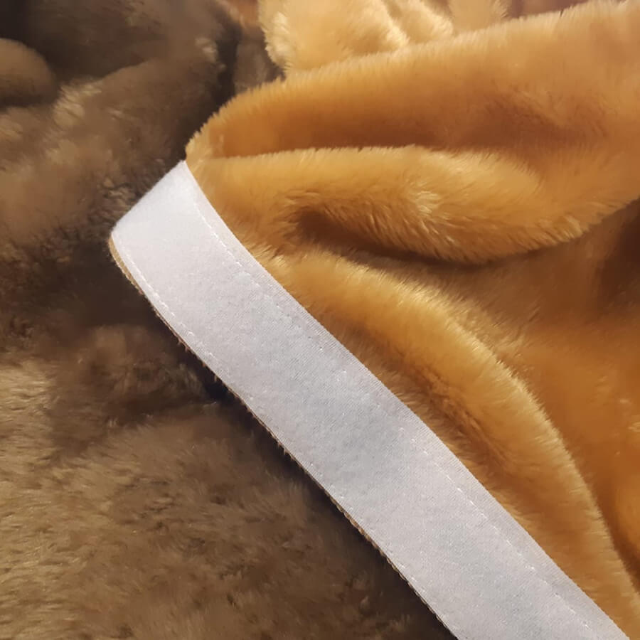 Imagem detalhe da manta filtrante para tambor rotativo