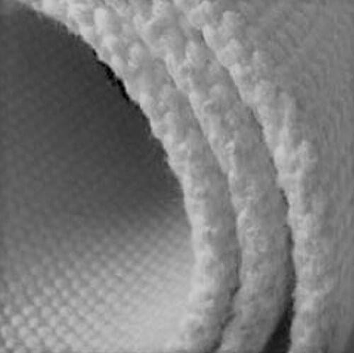 Rolo de tecidos e discos para calhas de fluidificação