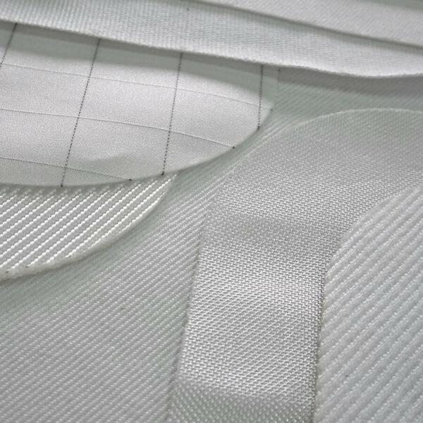 Tecidos filtrantes cortados a laser