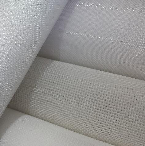 Imagem detalhe de quatro tipos de telas sintéticas